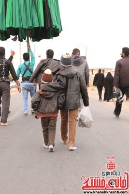 پیاده روی اربعین حسینی رهپویان کربلا در رفسنجانپیاده روی اربعین حسینی رهپویان کربلا در رفسنجان