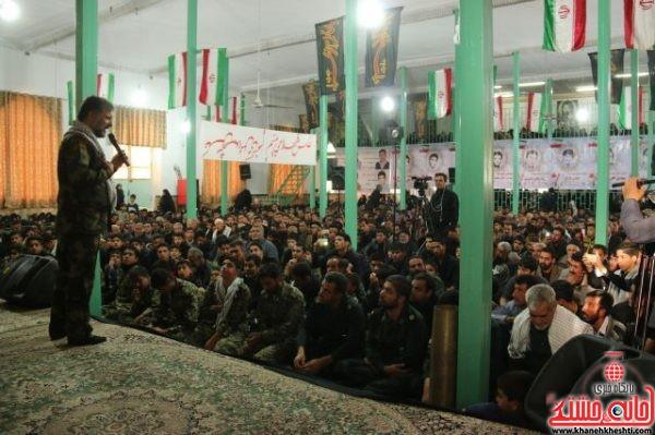 بیست و سومین یادواره سرداران و ۶۵ شهید دهستان شریف اباد کشکوئیه رفسنجان