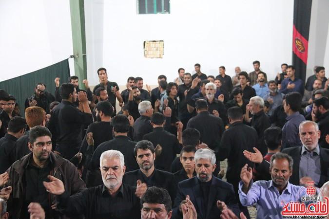 برگزاری مراسم عزای حضرت رقیه(س) در مهدی آباد نوق با حضور خدام مسجد مقدس جمکران