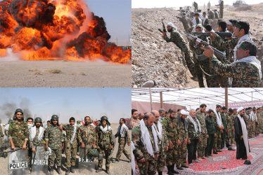 نمایش آمادگی نیروهای بسیجی رفسنجان در رزمایش یاوران انقلاب / گزارش تصویری