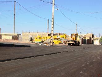 اجرای عملیات زیرسازی و آسفالت ۱۱۰ هزار متر مربع از معابر سطح شهر رفسنجان