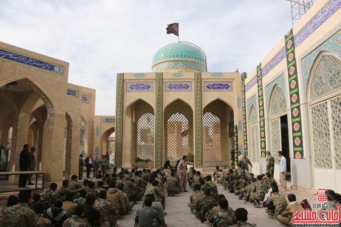 اولین روز از رزمایش یاوران انقلاب در رفسنجان