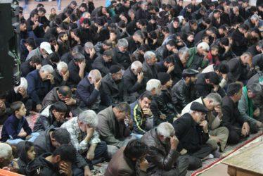 عزاداری اربعین حسینی در جوار شهدای جوادیه فلاح برگزار شد / تصاویر