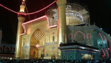 برگزاری دعای کمیل در صحن و سرای امیر المومنین(ع) در قاب دوربین خانه خشتی