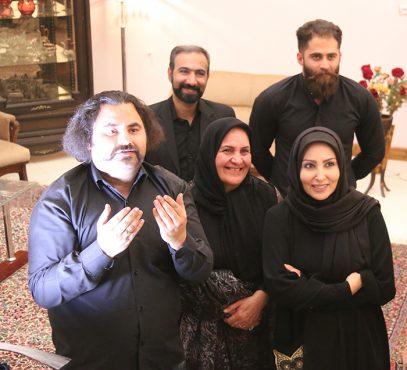حضور رئیس اداره فرهنگ و ارشاد اسلامی رفسنجان در پشت صحنه فیلم سبز بخت