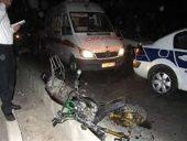 مرگ موتور سوار در حادثه جاده رضاآباد رفسنجان / راننده خودرو متواری شد