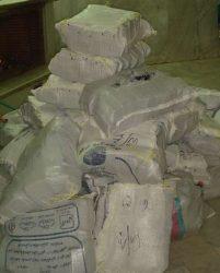 کشف موبایل و برنج قاچاق در رفسنجان