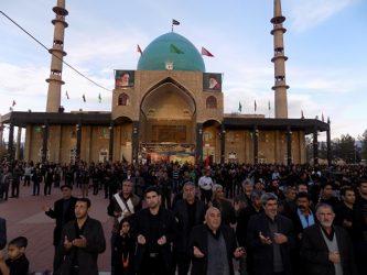 اجتماع بزرگ رضویون در آستان مقدس امامزاده سید جلال الدین اشرف نوق / تصاویر