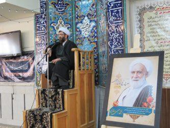 مراسم بزرگداشت شیخ عباس پور محمدی در حوزه سفیران هدایت رفسنجان برگزار شد/تصاویر