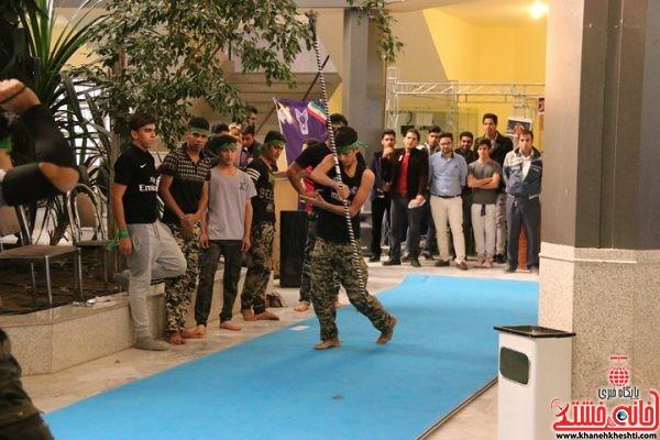 دومین نمایشگاه علمی عملی قهرمانان در سالن دانشکده فنی دانشگاه آزاد اسلامی واحد رفسنجان