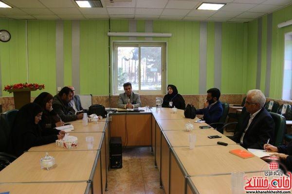دکتر علی مظفری رئیس بیمارستان علی ابن ابیطالب صبح امروز در جمع خبرنگاران