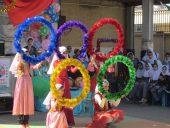 افتتاح المپیاد ورزشی دانش آموزی در دبستان کوثر رفسنجان / تصاویر