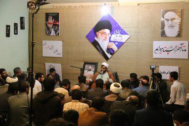 گرامیداشت یوم الله حماسه ۹ دی به یاد شهید غلامرضا آخوندی در رفسنجان برگزار شد/تصاویر