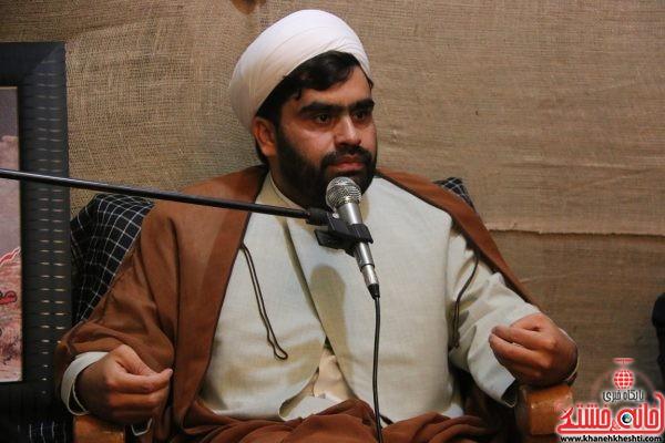 حجت الاسلام شیخ شعاعی در مراسم گرامیداشت یوم الله حماسه ۹ دی به یاد شهید غلامرضا آخوندی