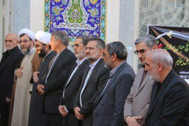 مراسم چهلمین روز در گذشت عالم ربانی حجت الاسلام پور محمدی در رفسنجان برگزار شد / تصاویر