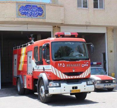 انجام بیش از ۳۱۰ مأموریت موفق توسط سازمان آتش نشانی و خدمات ایمنی شهرداری رفسنجان در تابستان