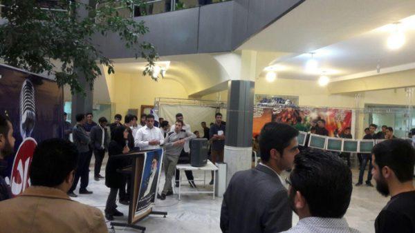 تریبون آزاد در دانشگاه آزاد رفسنجان