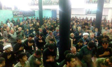 برگزاری شام عزای امام حسن عسکری(ع) در تقی آباد کشکوئیه / تصاویر