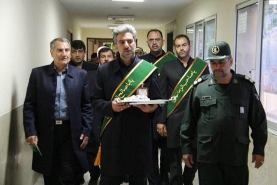 ملاقات خادمین مسجد مقدس جمکران از بیماران رفسنجان / تصاویر