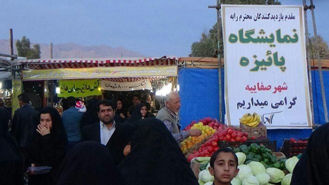 نمایشگاه پائیزه شهر صفائیه دایر شد / تصاویر