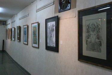 برپایی نمایشگاه تصاویر نوشته های استاد باستانی پاریزی در شهر سرچشمه / تصاویر