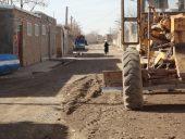 انجام عملیات شن ریزی و تسطیح معابر شهری به متراژ ۷۲ هزار متر مربع