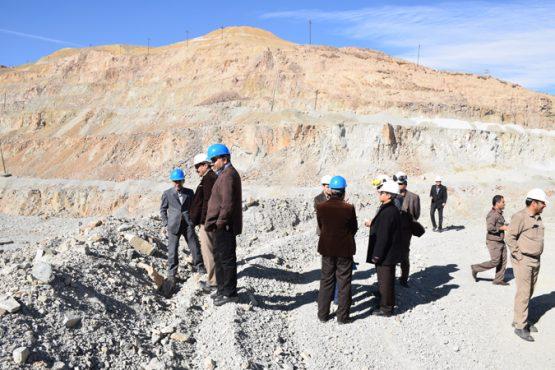 ایمنی معدن مس سرچشمه مورد بازدید قرار گرفت / تصاویر