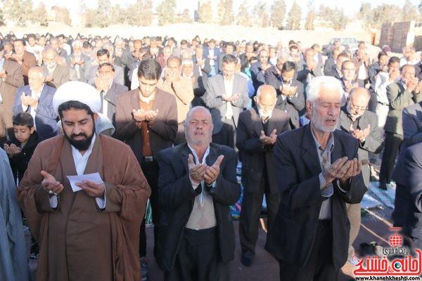 نماز استسقاء(طلب باران) در مصلی امام خامنه ای(مدظله العالی) رفسنجان