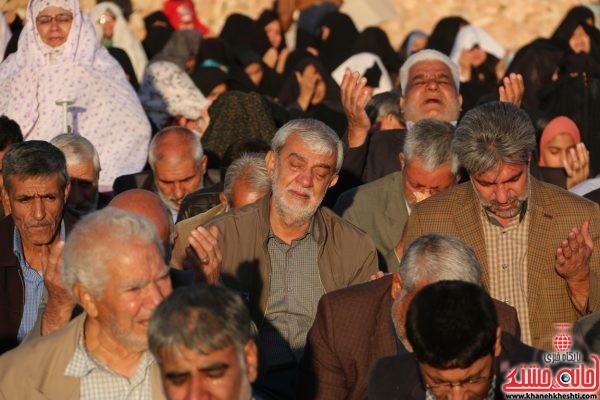 نماز استسقاء(طلب باران) به امامت حجت الاسلام رمضانی پور امام جمعه محترم رفسنجان در مصلی امام خامنه ای(مدظله العالی)