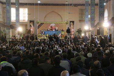 مراسم بزرگداشت آیت الله هاشمی رفسنجانی در مسجد جامع رفسنجان برگزار شد / تصاویر