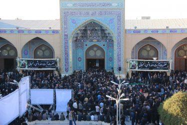 حضور باشکوه مردم انقلابی رفسنجان در مراسم بزرگداشت یار دیرین امام و رهبری / تصاویر