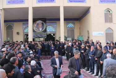حضور باشکوه هم ولایتی های هاشمی رفسنجانی در مراسم ارتحالش / تصاویر