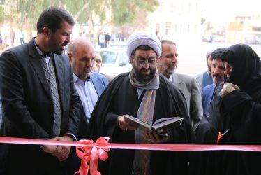 افتتاح نمایشگاه مدرسه انقلاب در دبیرستان علامه حلی رفسنجان با حضور مسئولین / تصاویر