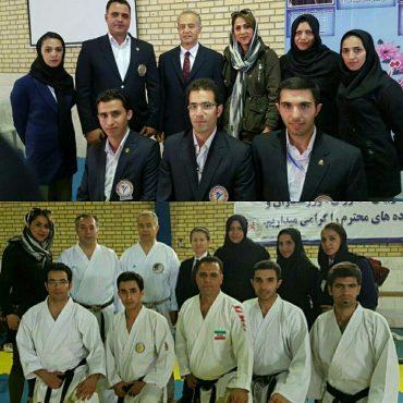 مربیان و داوران کاراته رفسنجانی به روز شدند / عکس