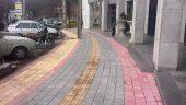 اجرای سنگفرش معابر شهری به متراژ ۵ هزار متر مربع