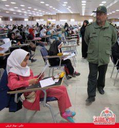 آزمون مسابقه علمی حوزه بسیج دانش آموزی حضرت زینب(س) رفسنجان برگزار شد