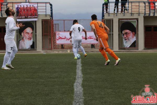 دربی استان کرمان بین تیم فوتبال صنعت مس رفسنجان و صنعت مس کرمان