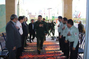 مراسم گرامیداشت شهدای آتش نشان در رفسنجان برگزار شد/تصاویر