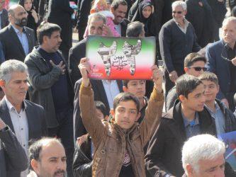 حضور باشکوه مردم رفسنجان در راهپیمایی یوم الله ۲۲ بهمن / تصاویر