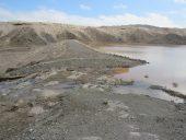 آبگیری کامل بند سنگ سیمانی رودخانه دئفه و احمد آباد کشکوئیه / عکس