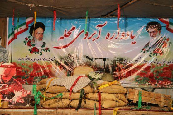 یادواره آبروی محله بزرگداشت سردار شهید سیدکاظم هاشمی برگزارشد/تصاویر