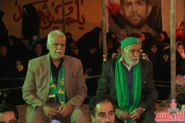یادواره آبروی محله بزرگداشت سردار شهید سیدکاظم هاشمی  در محله خلیل آباد رفسنجان