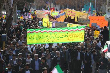لبیک مردم رفسنجان به ندای امام خامنه ای(مدظله العالی) /گزارش تصویری ۲