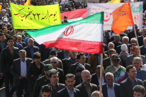 پیام مسئولین رفسنجان به پاس حضوری انقلابی در راهپیمایی یوم الله 22 بهمن