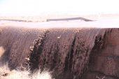 تکذیب افزایش حجم آبهای رودخانه های جاری در رفسنجان در امشب