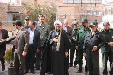 برپایی نمایشگاه ایستگاه انقلاب در رفسنجان