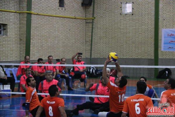 لیگ دسته اول بازی های والیبال نشسته کشور به میزبانی رفسنجان در سالن فرهنگیان
