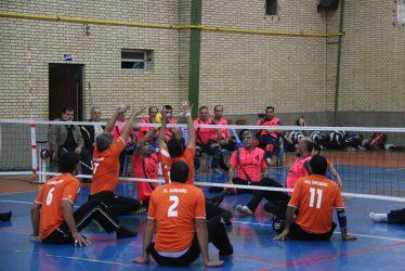 لیگ دسته اول بازی های والیبال نشسته کشور به میزبانی رفسنجان در حال برگزاریست/تصاویر
