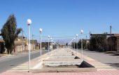 تأمین روشنایی بوستان جدیدالاحداث خیابان حاج اصغر نظری