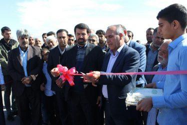 افتتاح و کلنگزنی پروژههای بخش نوق رفسنجان با ۴۵ میلیارد ریال اعتبار